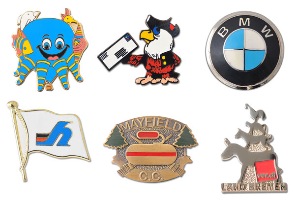 Custom Enamel Button Pins – Soft and Hard Enamel : : promler